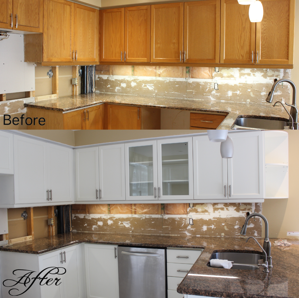 Kitchen Cabinet Refinishing Complete Solid Colour Change Masters
